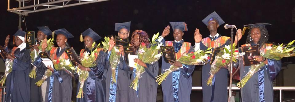 Cérémonie de remise des diplômes à ISM Dakar
